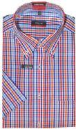 Eterna Short Sleeves Shirt - 4651/53 C194 - Red